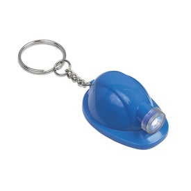 Promotional Hard Hat LED Key Chain