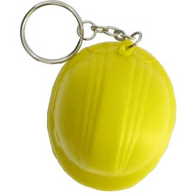 Hard Hat Key Chain Imprinted with Your Logo