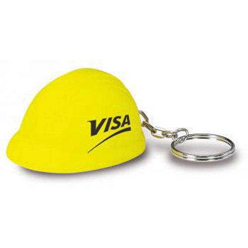Hard Hat Key Chain