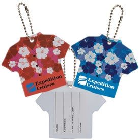 Hawaiian Shirt Luggage Tag