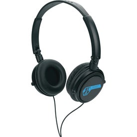 Headphones with Your Slogan