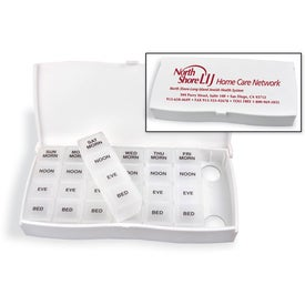 Healthy Trip Traveling Medicine Tray