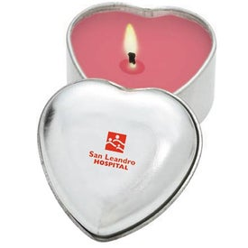 Heart Aromatherapy Candle