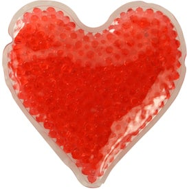 Heart Gelbead Hot Cold Packs