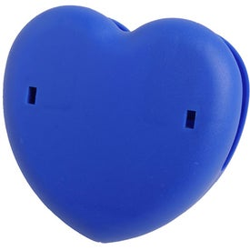 Heart Keep-it Clip with Your Logo