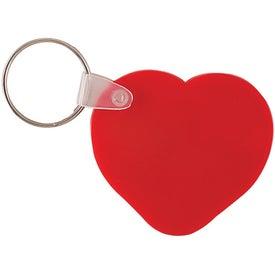Company Heart Key Chain