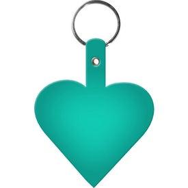 Custom Heart Key Tag