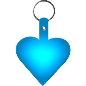 Heart Key Tag for Customization