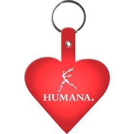Heart Key Tag