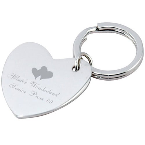Heart Keytags