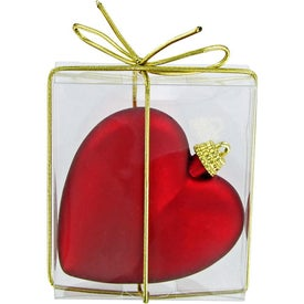 Heart Ornament for Advertising