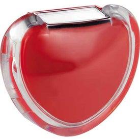 Printed Heart Pedometer