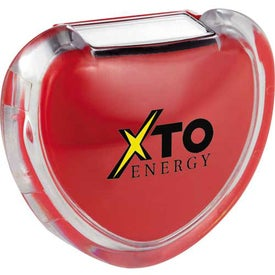 Heart Pedometer with Your Logo