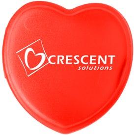 Printed Customizable Heart Pill Box