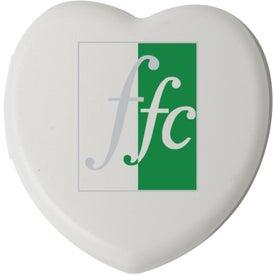 Logo Plastic Heart Pill Box