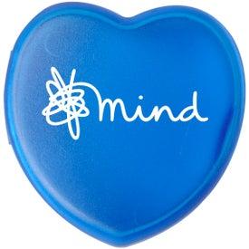 Plastic Heart Pill Box for Marketing