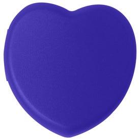 Plastic Heart Pill Box for Advertising