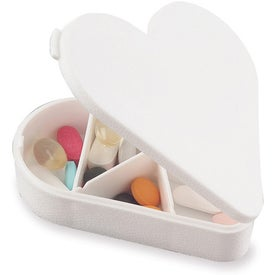 Heart Pill Box with Your Logo