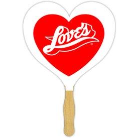 Heart Sandwiched Fan