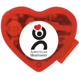 Advertising Heart Shaped Pedometer
