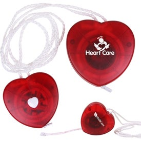 Heart Tape Measure with Neck Strap