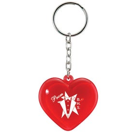 Heart Keychain for your School