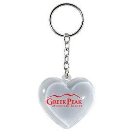 Heart Keychain for Customization