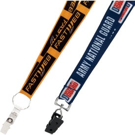 Heat Transfer Lanyard Imprinted with Your Logo