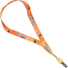 "Heavy Weight Satin Lanyard (3/4"")"