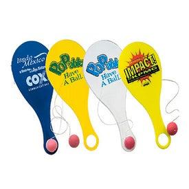 Customizable Hi-Flyer Paddle Ball