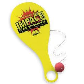 Branded Hi -Flyer Paddle Ball