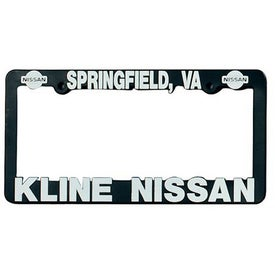 3D Maximum License Plate Frame (ABS Plastic)