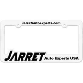 3D Maximum License Plate Frame