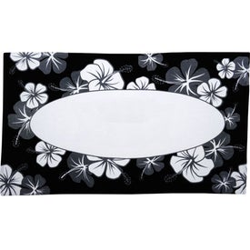 Customized Hibiscus Pattern Beach Towel