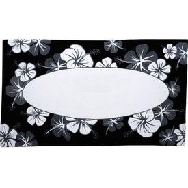 Customized Hibiscus Pattern Beach Towel