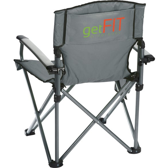 Gray High Sierra Deluxe Camping Chair