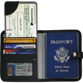 Customized High Sierra RFID Travel Wallet