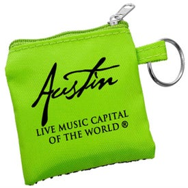 High Tech Pouch with Mini Stylus and Ear Buds for Advertising