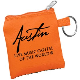High Tech Pouch with Mini Stylus and Ear Buds for Promotion