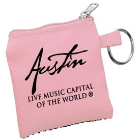 High Tech Pouch with Mini Stylus and Ear Buds with Your Slogan