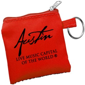 High Tech Pouch with Mini Stylus and Ear Buds for Your Organization