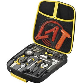 Highway Deluxe Roadside Kit With Tools for Customization