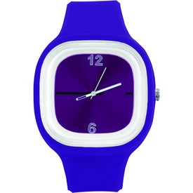 Branded Hip to Be Square Watch