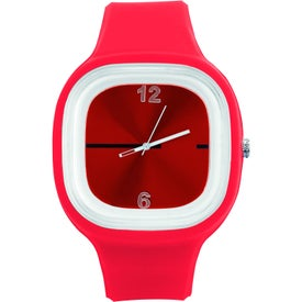 Hip to Be Square Watch Branded with Your Logo