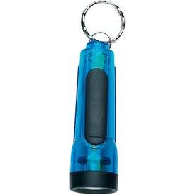 Hi Tech Mini Flashlight with Your Slogan