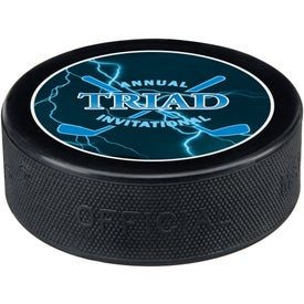 Customized Hockey Pucks