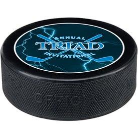 Customized Hockey Pucks
