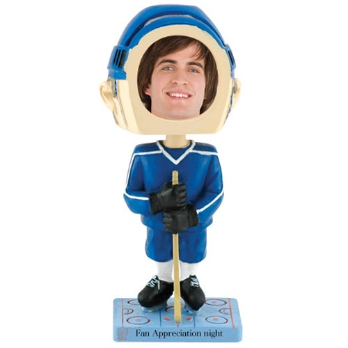 See Item Hockey Bobble Head