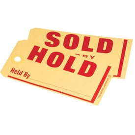 Hold/Sold Jumbo Tag