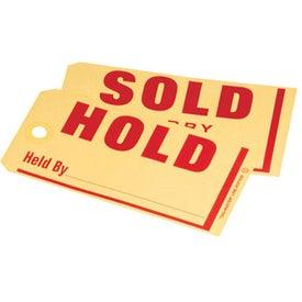 Hold/Sold Jumbo Tag